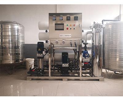 饮用水比例法RO膜除盐净化系统