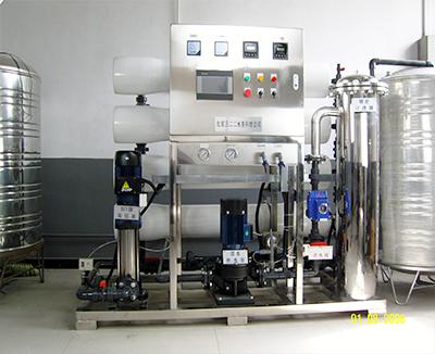 饮用水比例法RO膜除氟净化系统